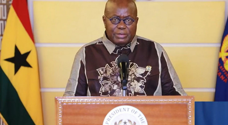 Observe safety protocols during Christmas celebrations – Akufo-Addo to Ghanaians