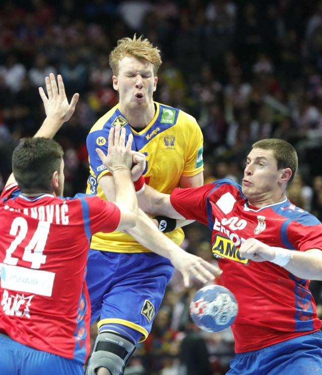Zelenović i Jovanović nisu imali rešenja za Šveđane