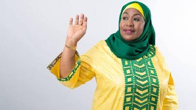 Tanzania President Samia Suluhu unanimously elected Chairperson of ruling party CCM