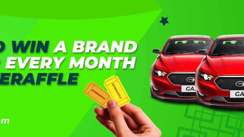 Play and win a brand new car every month for 500 naira only
