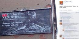 Reklamują rajstopy trumną i ks. Twardowskim!