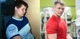 Schudł 50 kg w pół roku!