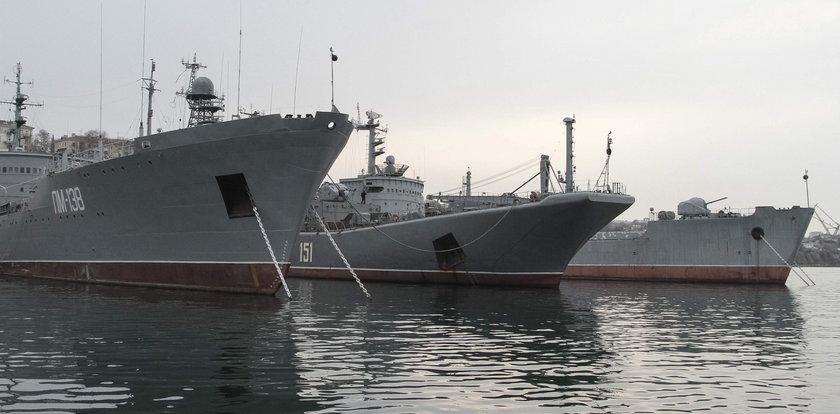 Rosyjskie okręty ruszają na wojnę
