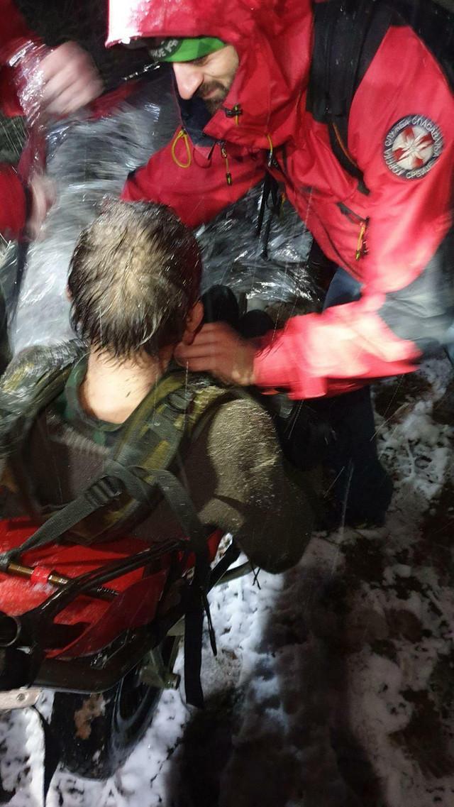 GSS Toponička reka spasavanje nestalog čoveka