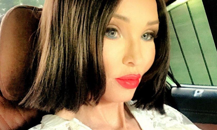 Nowa fryzura Ewy Minge