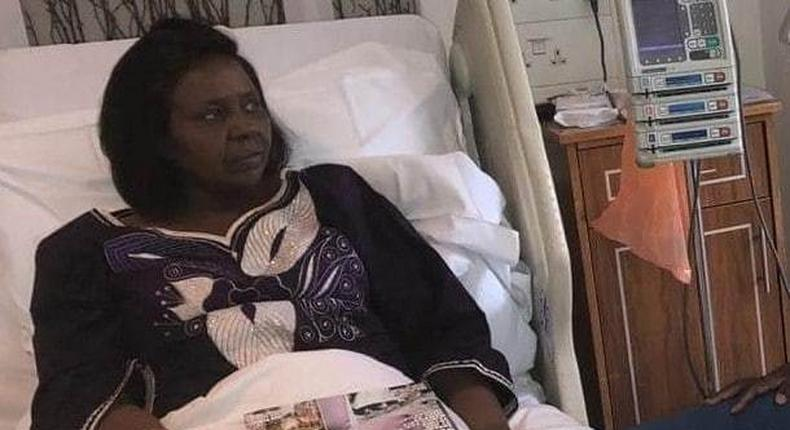 Bomet Goveror Joyce Laboso returns to Kenya from India, state of her health disclosed