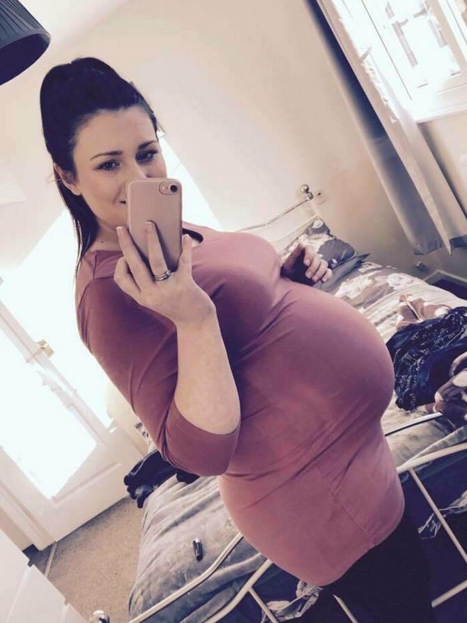 U 12. nedelji trudnoće Džordan je doživela najveći mogući stres