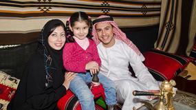 Kuwejtczycy zimę spędzają... pod namiotami