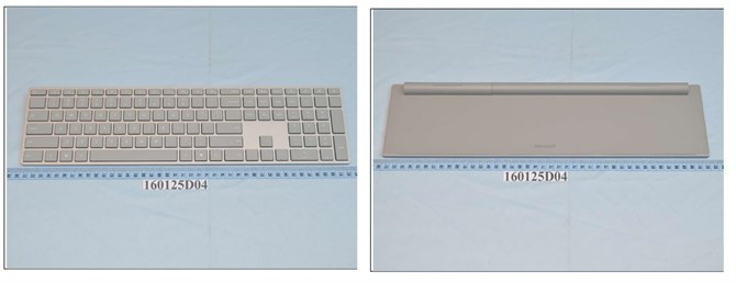 Microsoft Surface Keyboard na zdjęciach z FCC