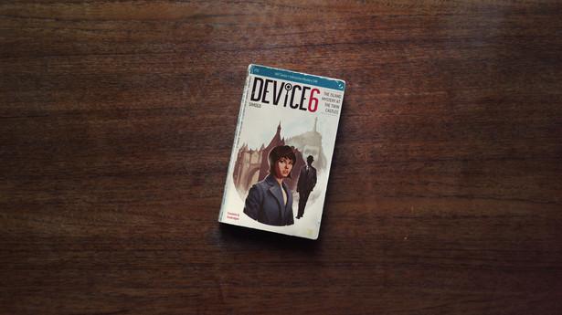 """Device 6 """"Device 6"""" stanowi połączenie audiobooka, interaktywnej opowieści oraz gry logicznej. Każdy poziom to wirtualna kartka noweli, w której aktywnie uczestniczymy. Surrealizm i oryginalność w czystej postaci."""