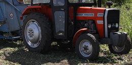 Traktor przejechał 7-latka. Ojciec był pijany