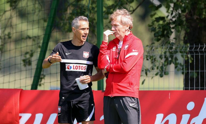 Zbigniew Boniek i Paulo Sousa