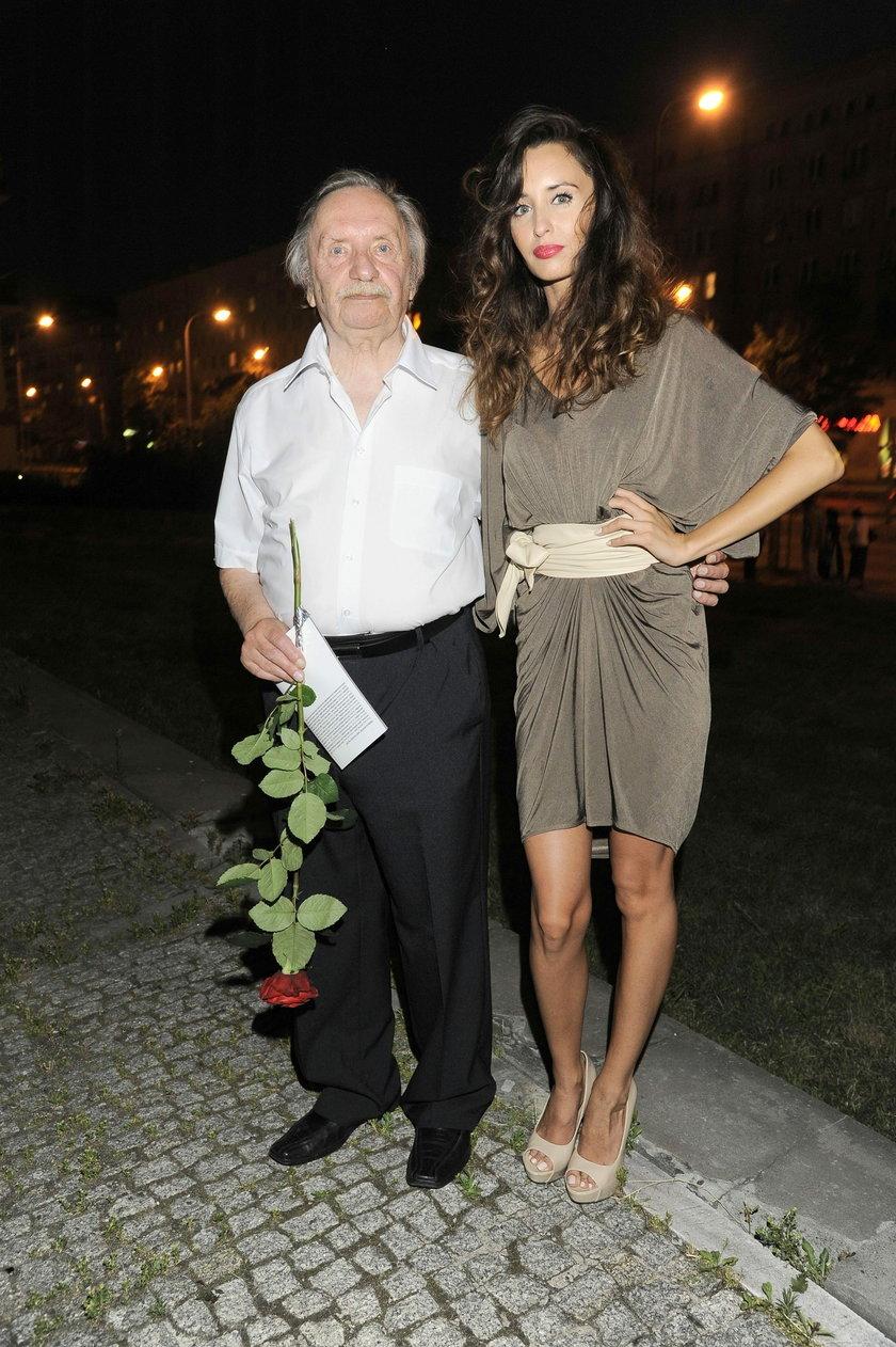 Agata Nizińska i Wojciech Pokora
