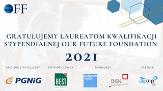 Laureaci jednego z największych polskich programów stypendialnych- OFF 2021, zostali wybrani!