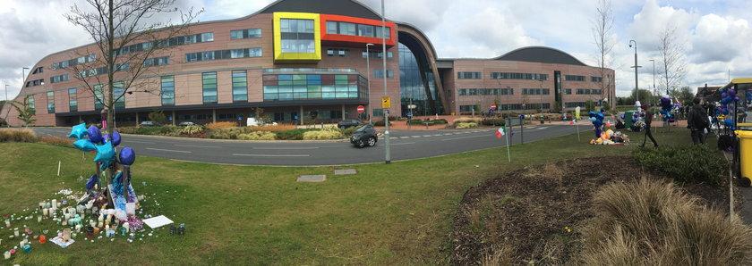 Szpital w Liverpoolu, gdzie zmarł Alfie Evans