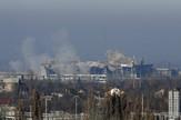 Ukrajinski vojnici su zarobljeni tokom borbi oko aerodroma u Donjecku