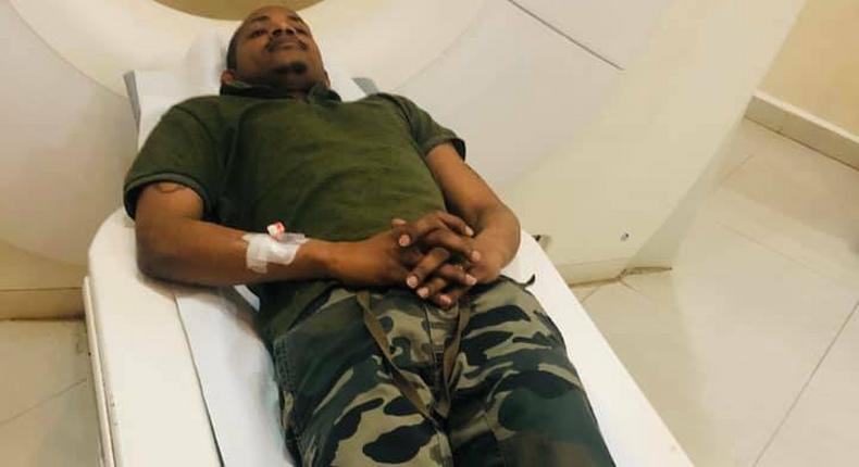 Babu Owino hospitalized