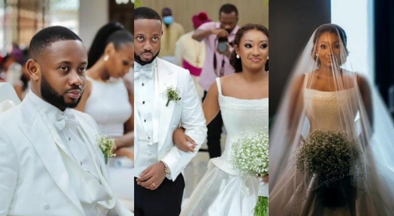 #CiRi 2020: All the photos from Ofori Sarpong's daughter's star-studded white wedding