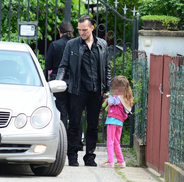 Zoran Marjanović i ćerka Jana
