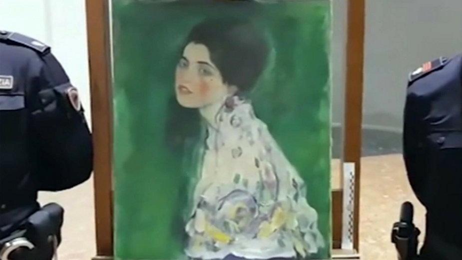 Znaleziony w Piacenzy obraz może być dziełem Gustava Klimta