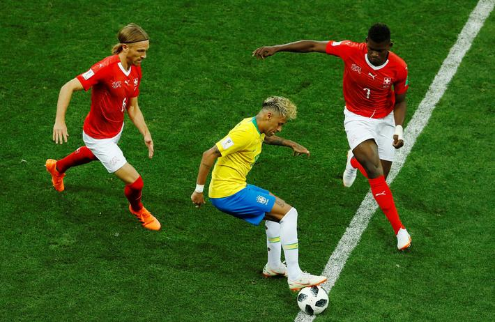 World Cup - Group E - Brazil vs Switzerland