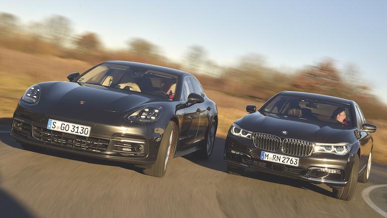 Porsche Panamera 4S Diesel kontra BMW 750d xDrive