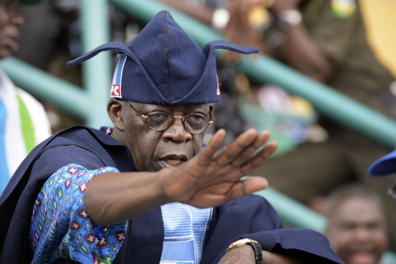 Asiwaju Bola Ahmed Tinubu is backing Sanwoolu for the APC governorship ticket