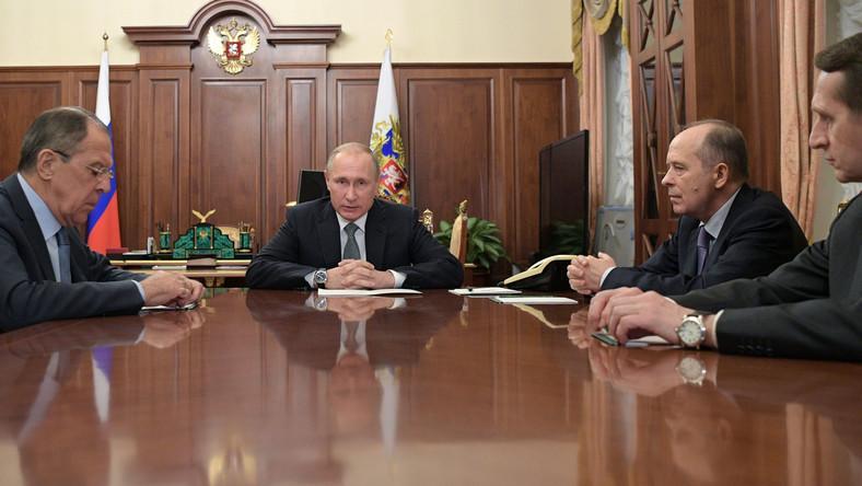 Narada w gabinecie prezydenta Rosji