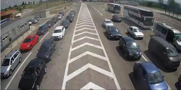 Preševo, ulaz u Srbiju