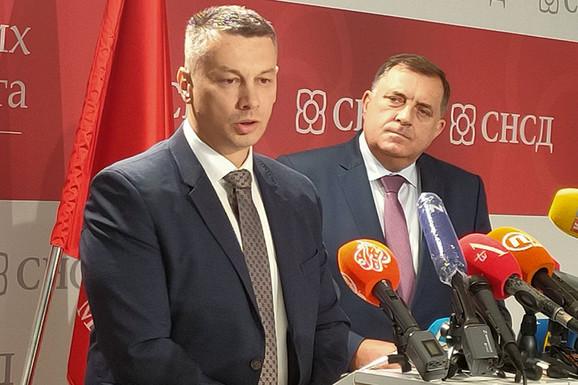 Nenad Nesić i Milorad Dodik