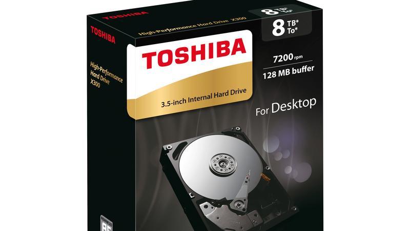 Dysk twardy 8TB od Toshiby