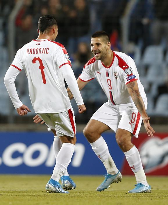 Aleksandar Mitrović i Nemanja Radonjić