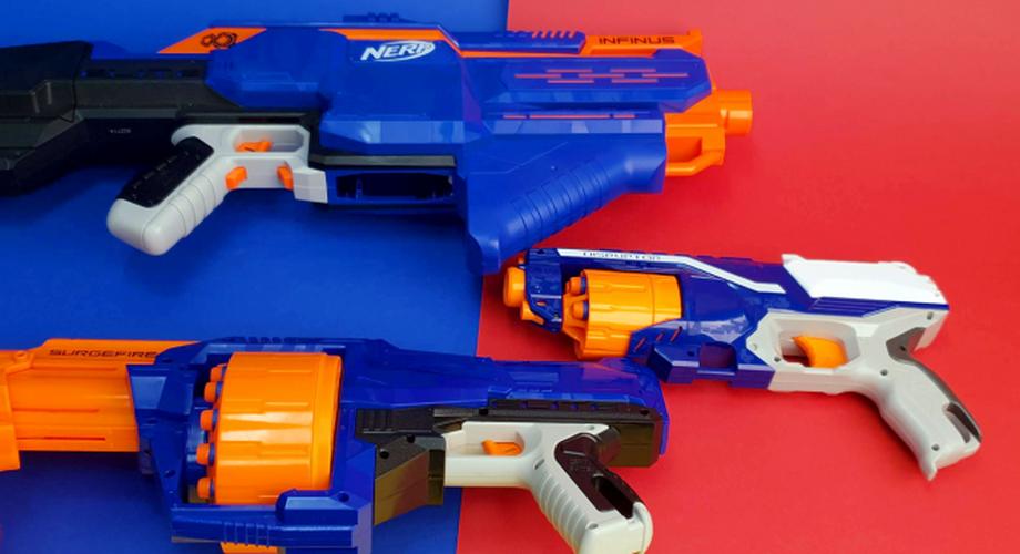Sechs Nerfs im Vergleich: Fortnite-Blaster oder klassisch?
