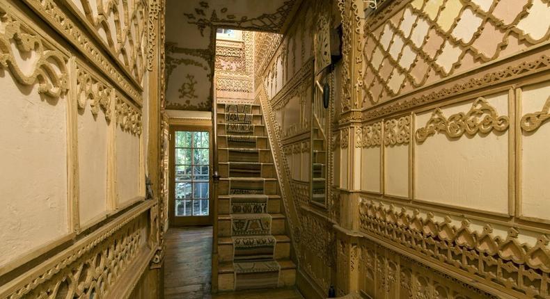 Khadambi Asalache's house. (Twitter)