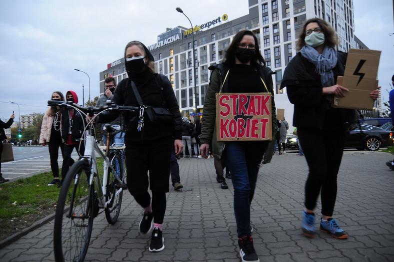 Blokada Ronda Wiatraczna w Warszawie 6