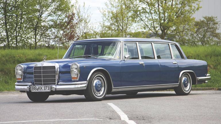 Mercedes 600 - apodyktyczny klasyk z gwiazdą