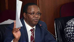 Interior PS Karanja Kibicho files harassment complaint against Deputy President William Ruto with the DCI