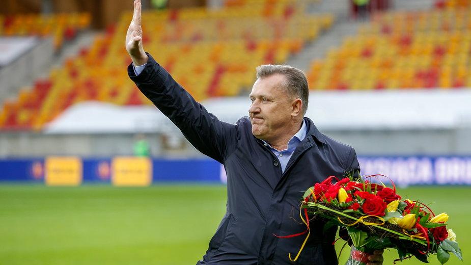 Prezes PZPN wraz z kadrowiczami celebrował w szatni zwycięstwo w Tiranie