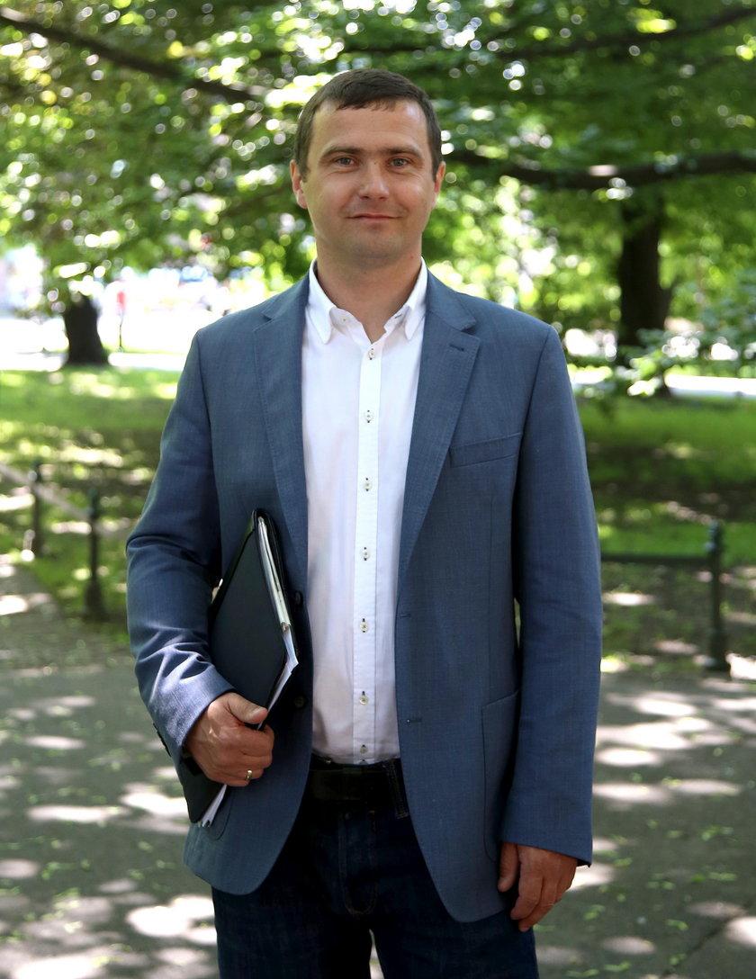 Piotr Kempf dyrektor Zarządu Zieleni Miejskiej