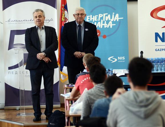 Ove godine na takmičenju nema nijednog osnovca, kaže direktor Matematičke gimnazije Srđan Ognjanović