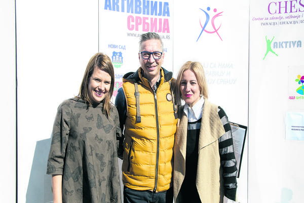 """Zdravlje na prvom mestu: Poznati podržali akciju """"Aktivnija Srbija"""""""