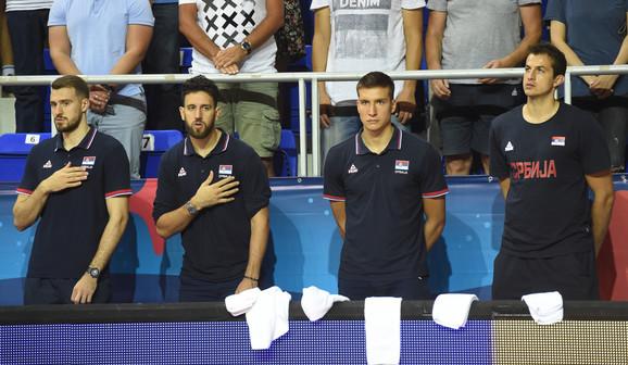 Košarkaška reprezentacija Srbije, Finske, Košarkaši Srbije