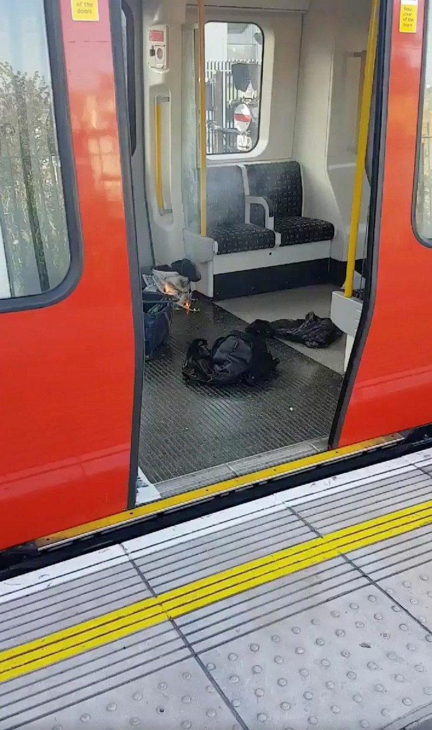 18-latek zatrzymany w związku z zamachem w londyńskim metrze