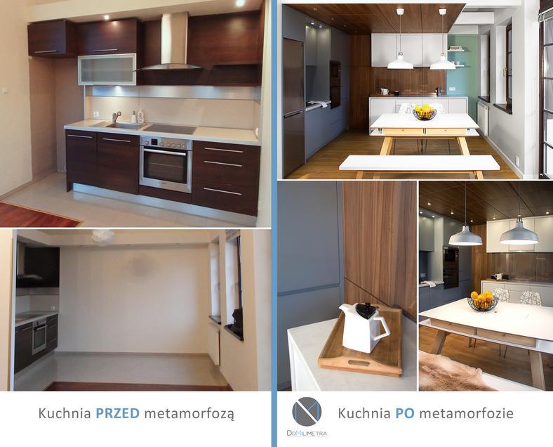 Metamorfoza Kuchni Zdjęcia Przed I Po Z Kontrastowo