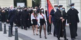 Studenci oprotestowali obecność Andrzeja Dudy na rozpoczęciu roku akademickiego