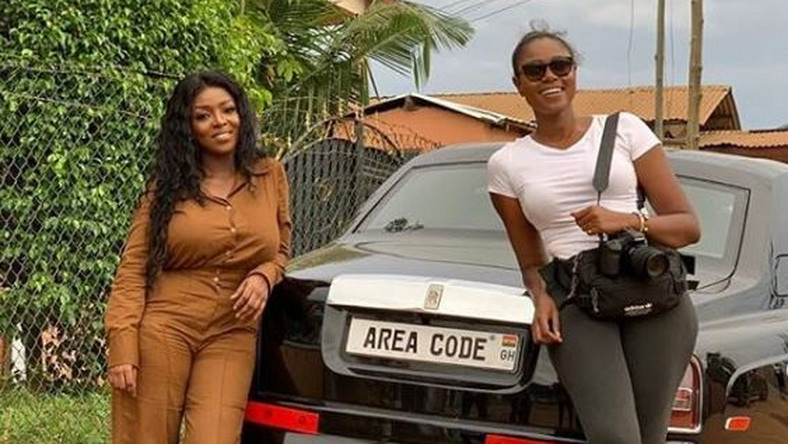Yvonne Okoro and Yvonne Nelson
