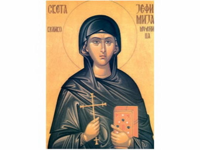 Danas je praznik svete Jefimije, zaštitnice žena: Svaka žena danas bi trebalo da uradi OVU VAŽNU STVAR