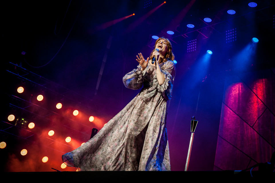 Florence And The Machine na Orange Warsaw Festival 2014