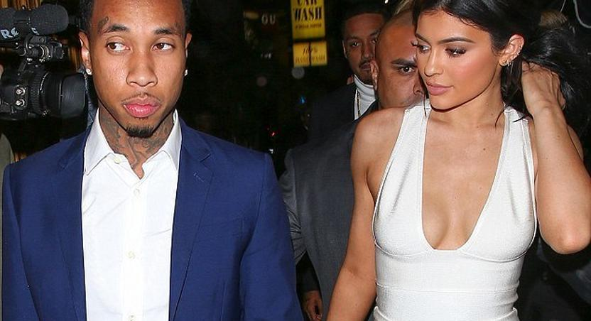 Kylie Jenner, Tyga arrive together at post-AMA party in L.A amid reports of a split