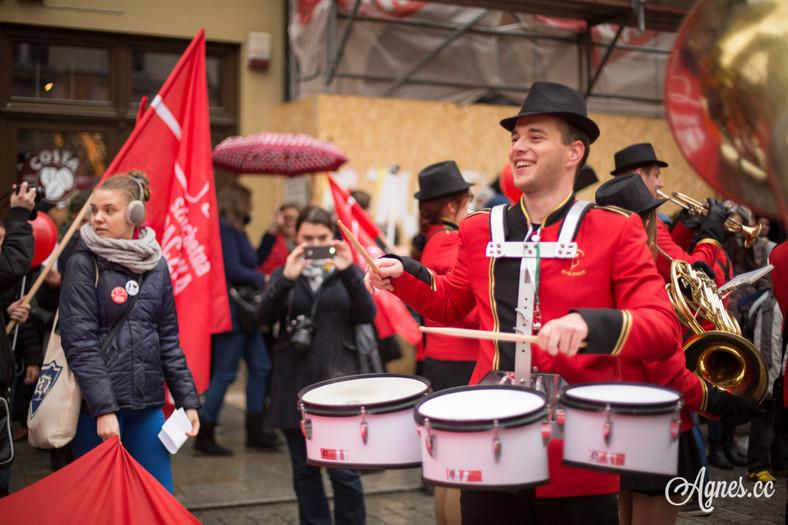 Marsz Szlachetnej Paczki (fot. Agnieszka Ożga Woźnica)